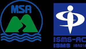 MSA認証マークとISMS認証シンボル